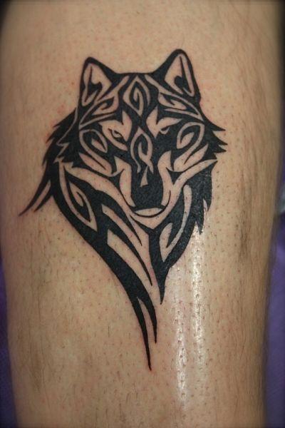 tribal wolf tattoo shoulder google search chin kono tatouage loup tatouage et tatouage. Black Bedroom Furniture Sets. Home Design Ideas