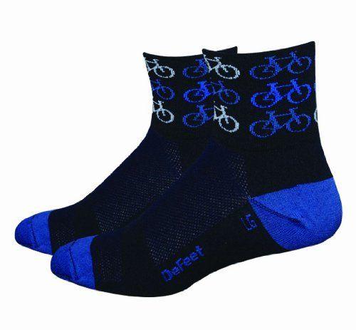 DeFeet Men's Aerator Cool Bikes Sock, Black, Large  #Aerator #Bikes #Black #Cool #DeFeet #Large #Men's #Sock CyclingDuds.com