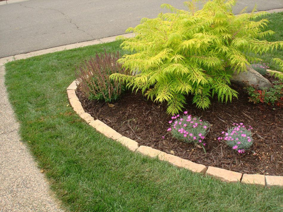 Edge Stone For Garden: Landscaping Pictures Of Rock Edging