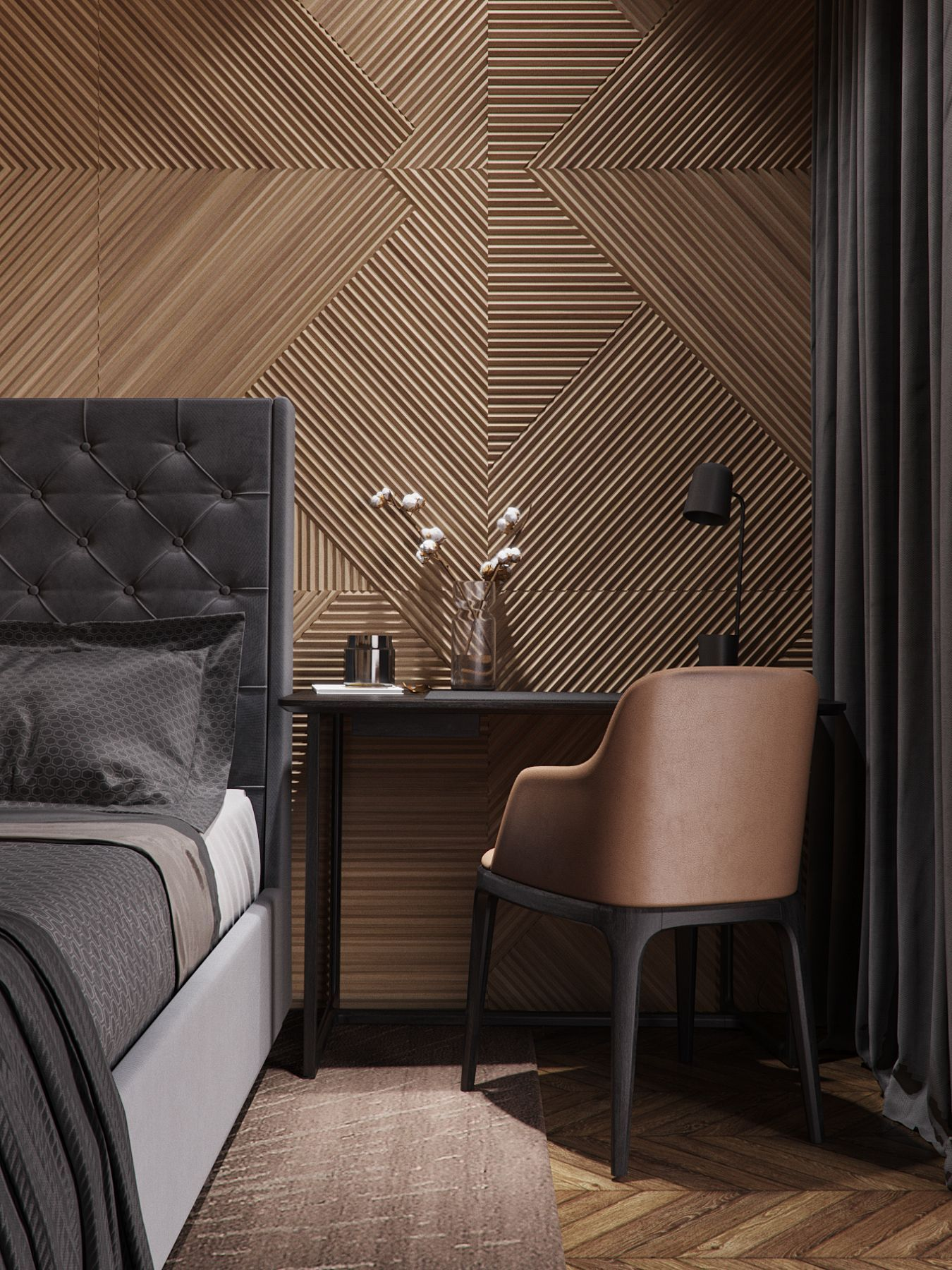 Hotel Room Wall: 25 Accent Wall Ideas You'll Surely Wish To Try This At