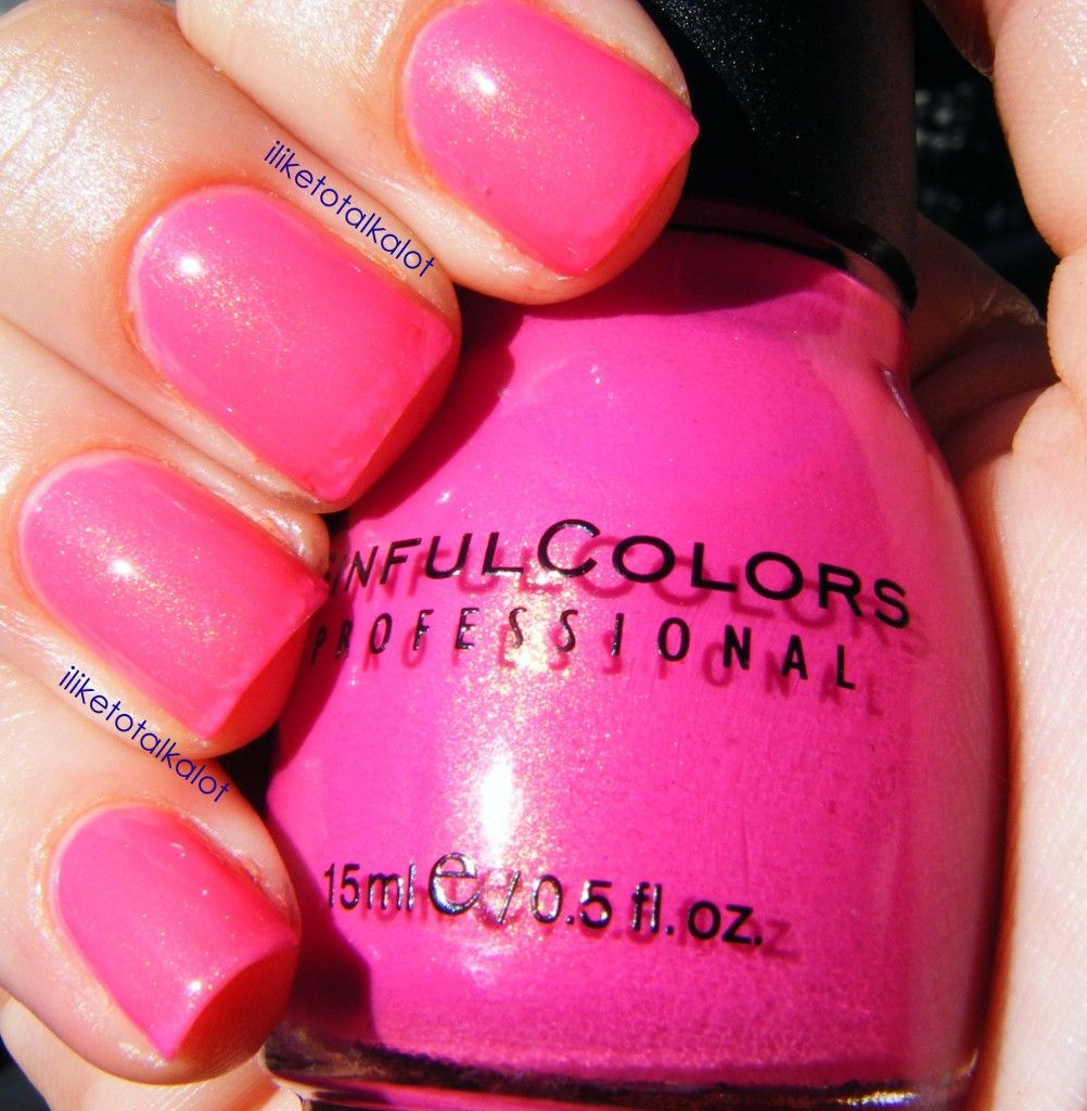 Sinful Colors Cream Pink. Love this color for summer. Only 2 bucks ...