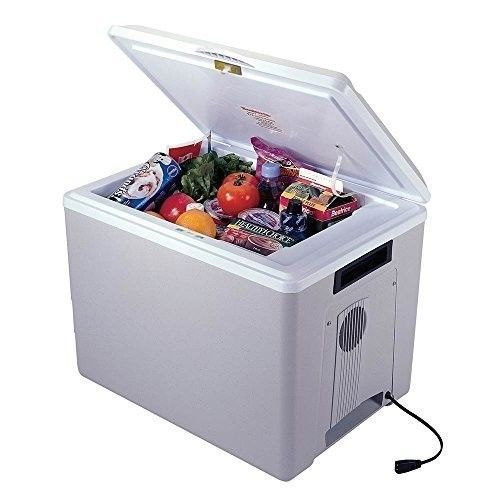 12 Volt Car Cooler Refrigerator Portable Mini Fridge Travel Camping Warmer Grey Car Cooler Portable Cooler Camping Fridge