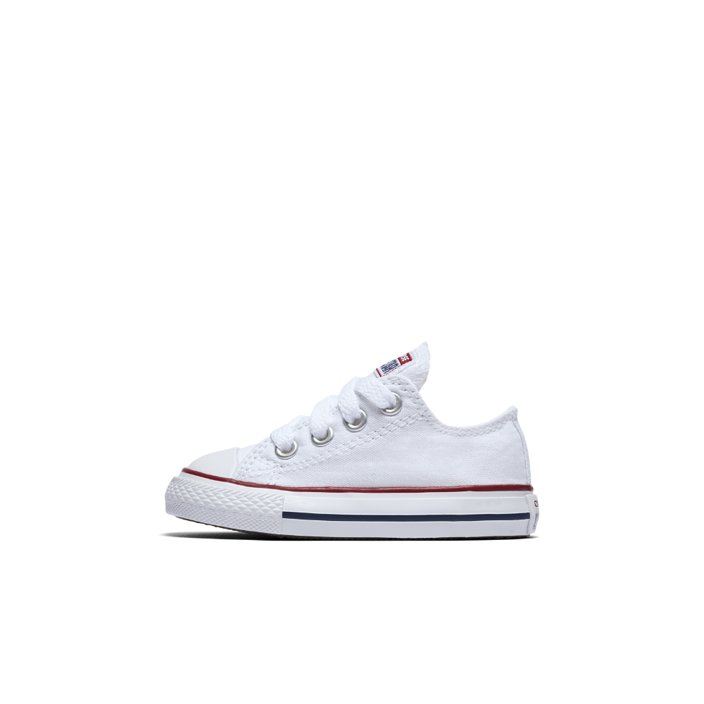 7a75be0918a3 Converse Chuck Taylor All Star Low Top Infant Toddler Shoe Size 10C (White)