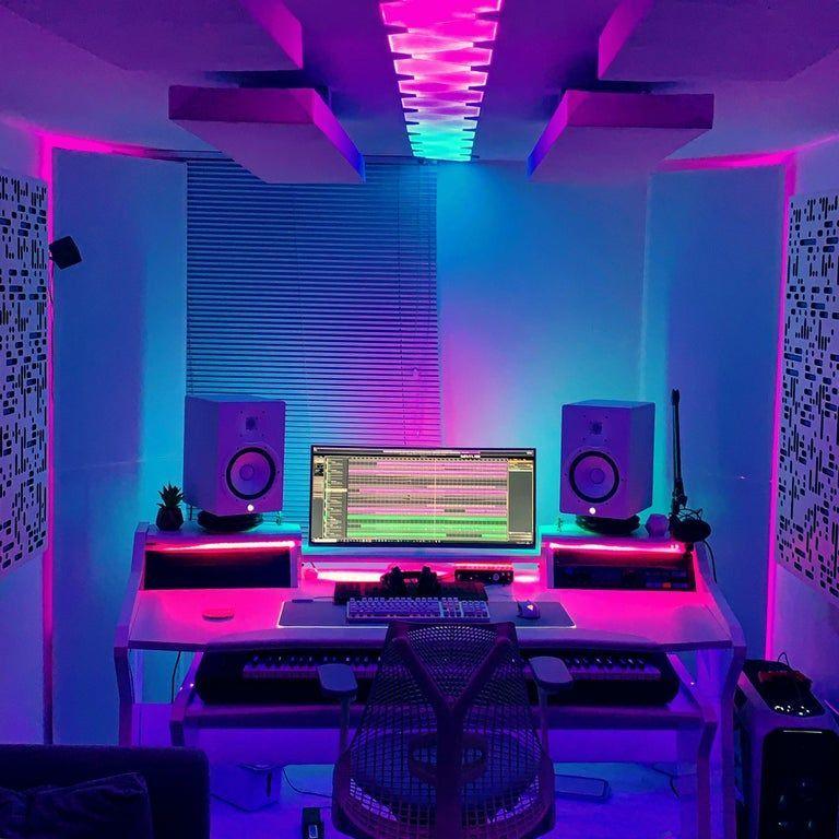 Pin On Burn Ideas Home Recording Studio Setup Home Studio Setup Music Studio Room