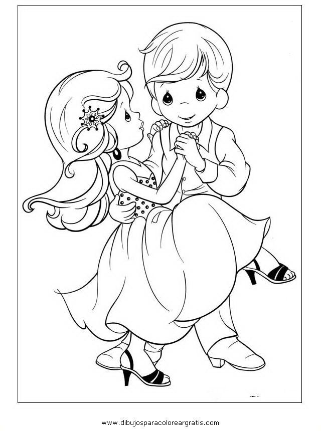 Image Of Imagen Para Colorear Ninos Bailando Dibujo De Niña Bailando