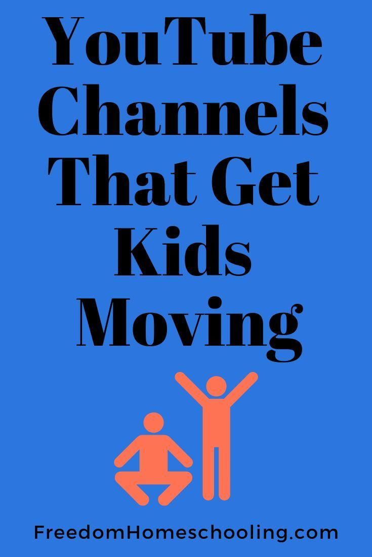 YouTube Channels That Get Kids Moving | Freedom Homeschooling