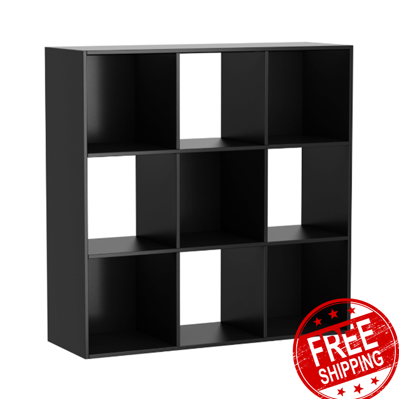 9 Cube Organizer Storage Rack Shelf Cabinet Closet Shelves Household Furniture 49 4 In 2020 Storage Closet Organization Cube Storage Shelves Closet Cabinets