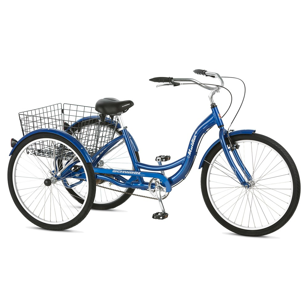 Schwinn Meridian 26 3 Wheel Bike Blue