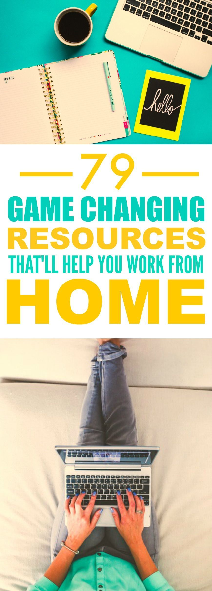 These 79 resources to help you work form home are THE BEST