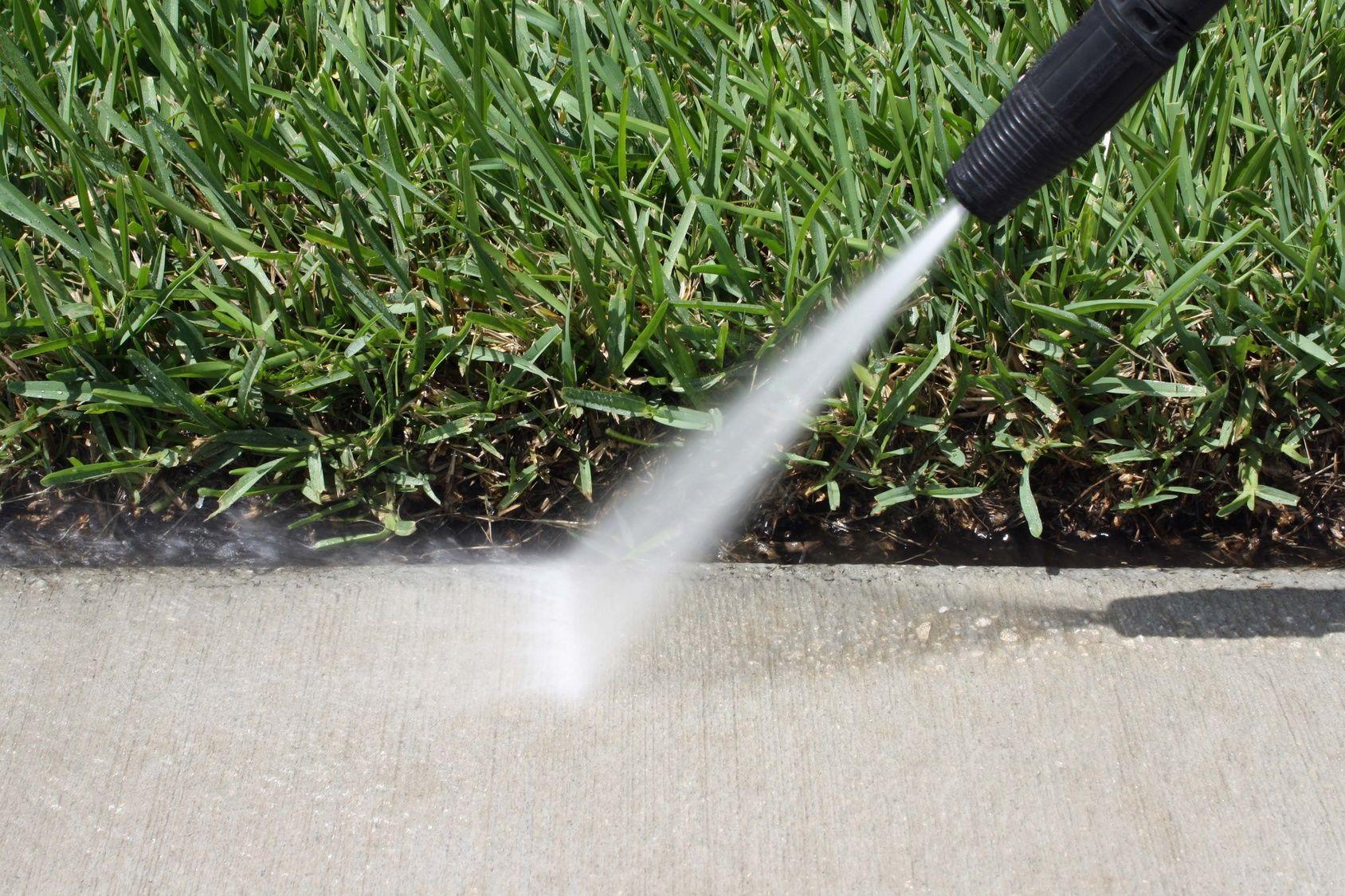Comment Nettoyer La Terrasse En Pierre rinçage à haute pression du béton | nettoyage terrasse