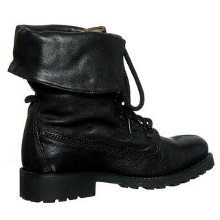 Diba Women's 'Miss Me' Black Combat Boots by Diba | Great deals ...