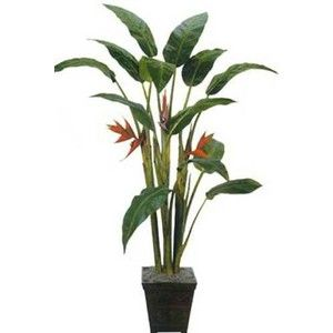 indoor houseplants artificial house plants 7 foot tall giant heliconia tree - Tall Flowering House Plants