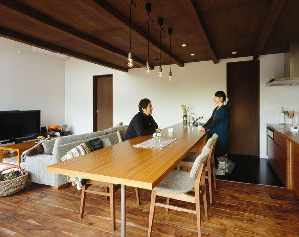 ウッドデッキのある家 間取り 神奈川県横浜市 高級住宅 豪邸