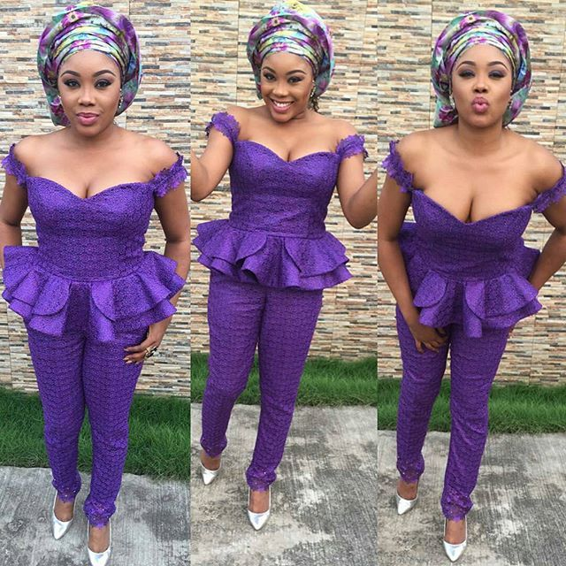 Fancy Asoebi Styles: The Asoebi Jumpsuit (With Images