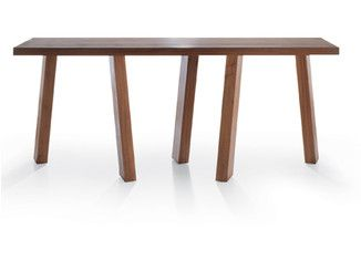 Rectangular solid wood console table LUDO | Console table - Riva 1920