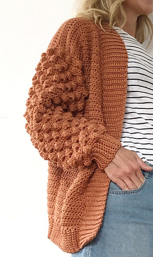 Photo of Poet Cardigan pattern by Little Golden Nook