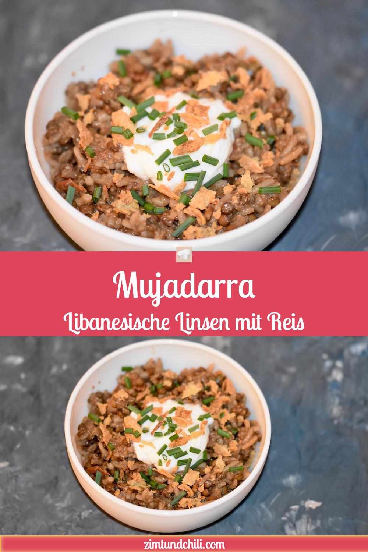 Mujadarra - Libanesische Linsen mit Reis | Arabische Küche ...