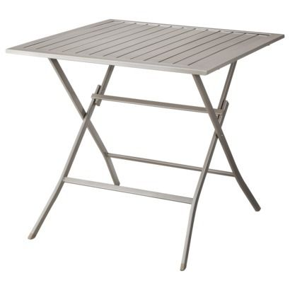 Threshold™ Russell Metal Patio Slatted Dining Table $79.00