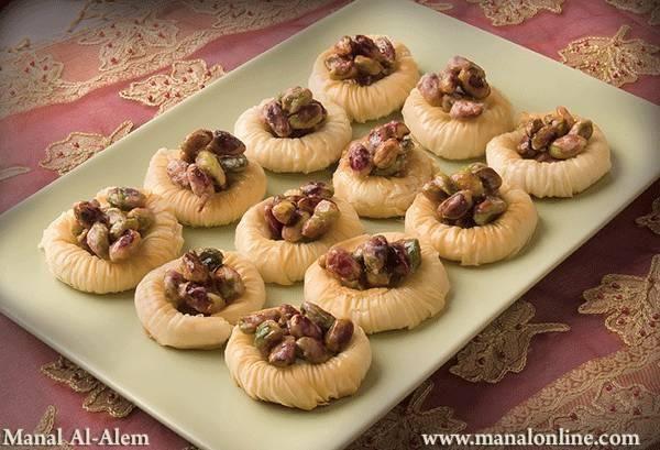وصفة عش البلبل 2 Dessert Recipes Desserts Moroccan Food