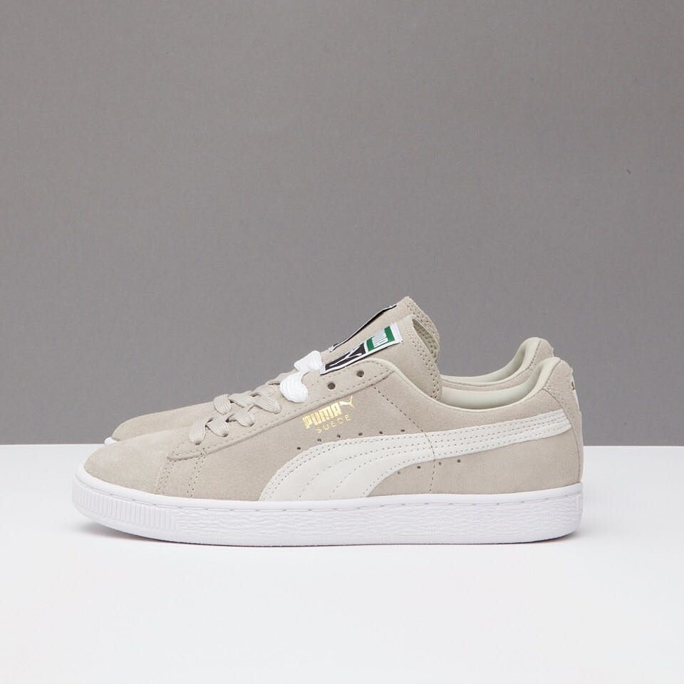 The Suede Classic by Puma now available in beige at
