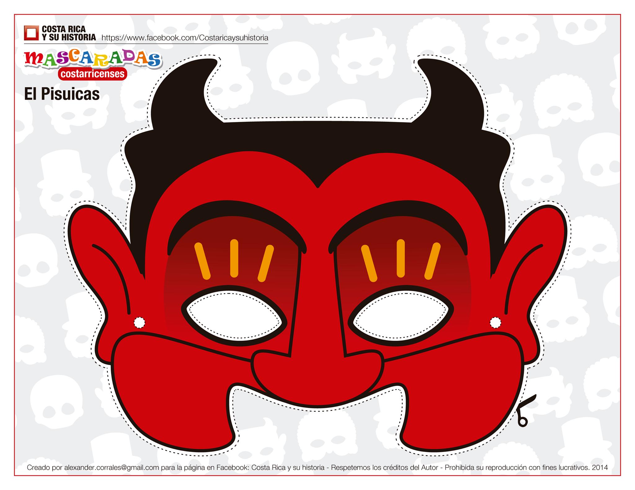 Hermosa Mascarada Para Colorear Friso - Dibujos Para Colorear En ...