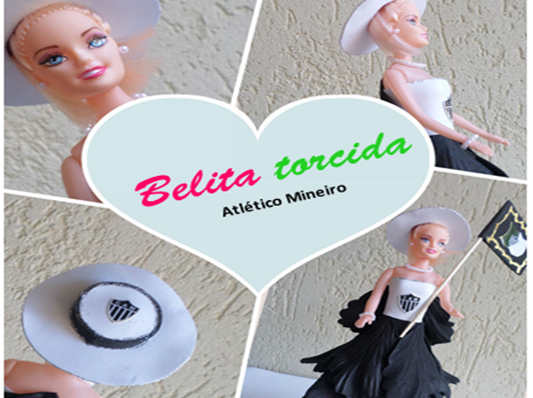 Belita # 6 Torcida Atlético Mineiro www.facebook.com/belitas.eva