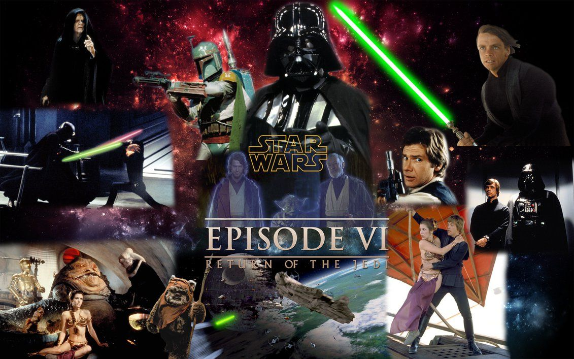 Star Wars 6 Wallpaper By Ejlightning007arts With Images Star Wars Pictures Star Wars War