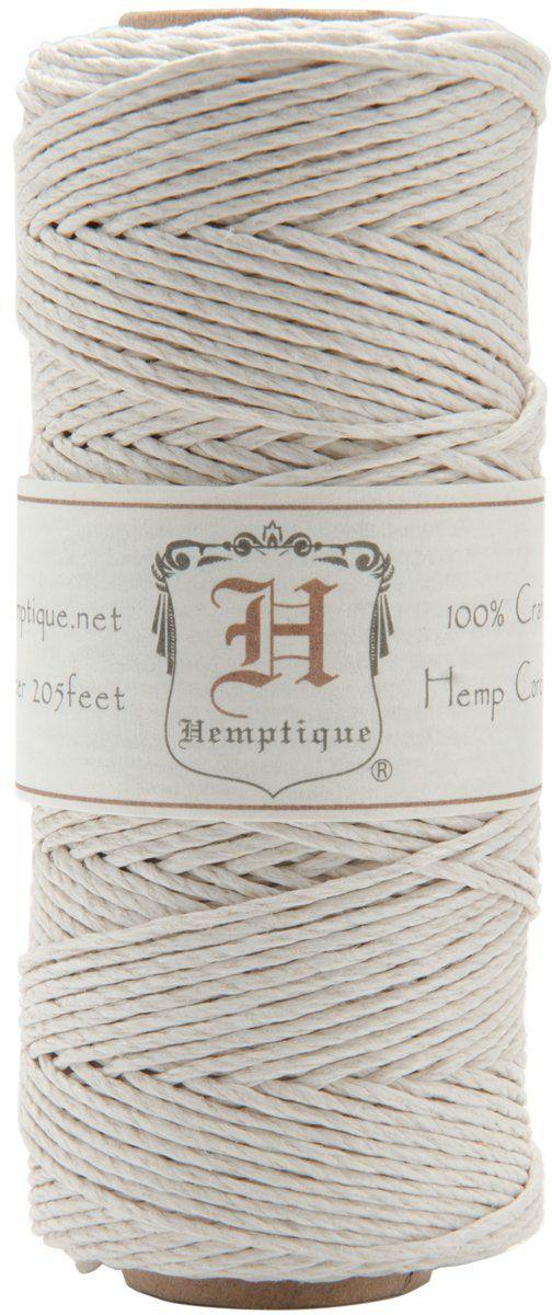 Amazon Com 20 Hemp Cord Spool White 1mm Thick 62 5 Meters Hemp Cord Hemp Leather Craft Tools