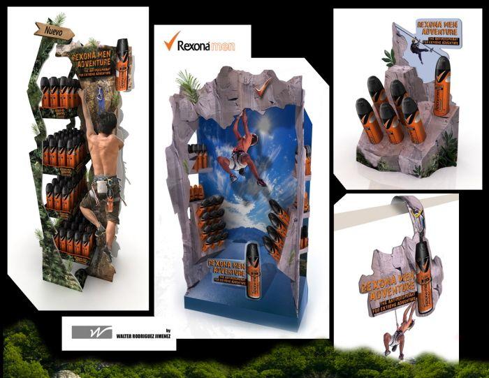 REXONA MEN Adventure by Walter Rodriguez Jimenez at Coroflot.com