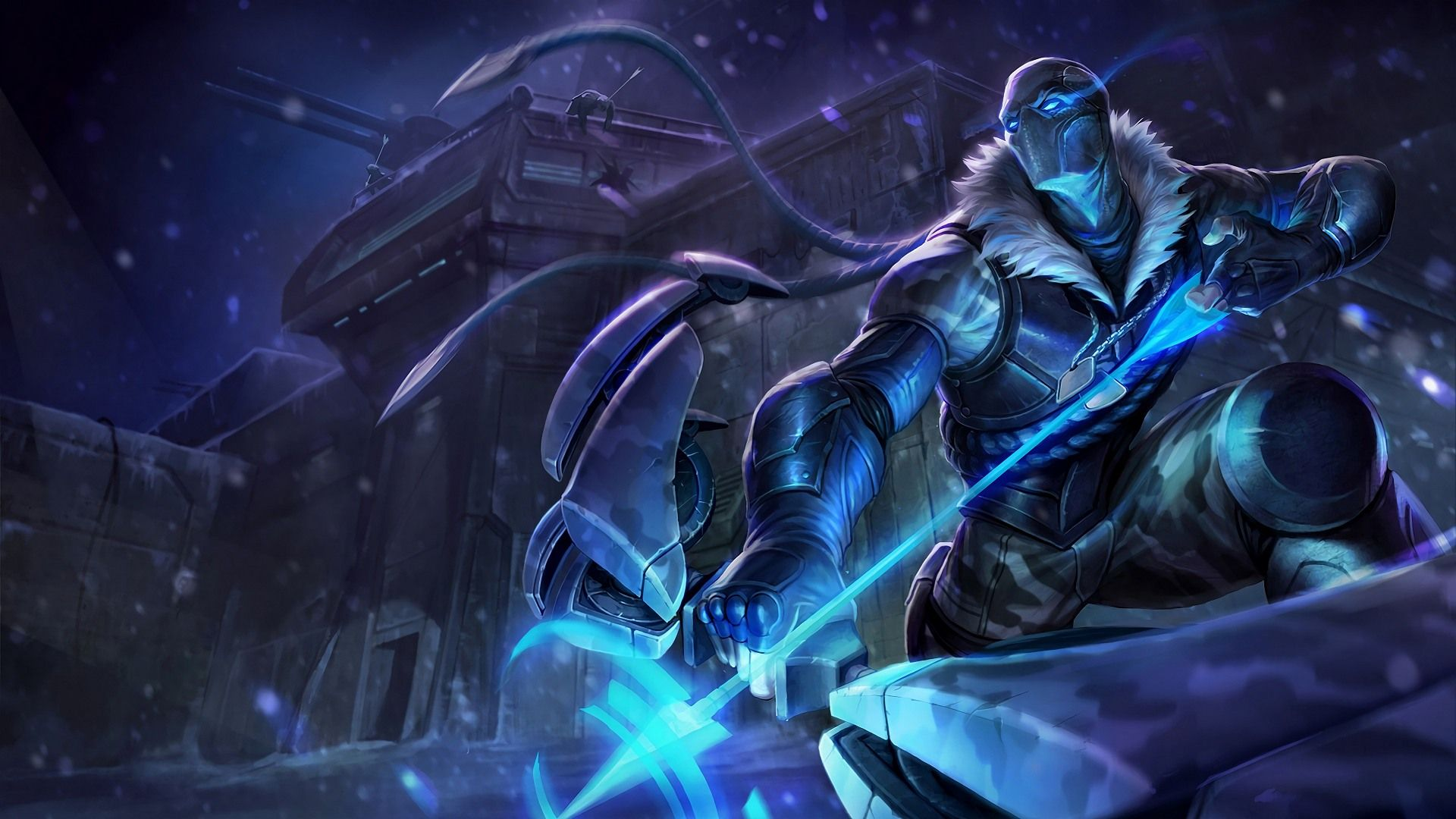 Download Wallpaper Arctic Ops Varus Skin Splash Art Full Hd For