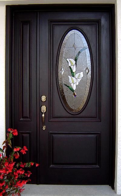 Vitrales artisticos s a guatemala vitraux pinterest puerta de entrada puertas for Puertas de madera modernas para entrada principal