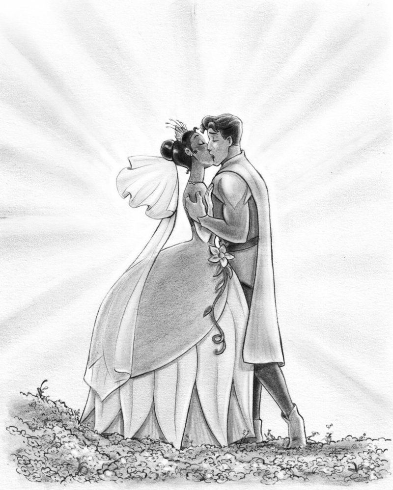 Tiana and Naveen - The Princess and the Frog by Scuderi by Skudo ...
