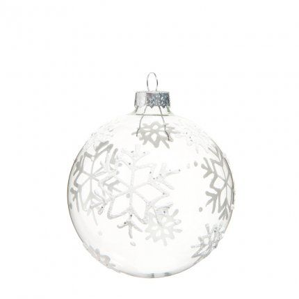 boule de no l flocon chez maisons du monde projects to try diy christmas ornaments. Black Bedroom Furniture Sets. Home Design Ideas