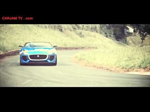 2014 Jaguar F Type V8S T7 HD Full Speed Loud Exhaust Project 7 Concept Sexy  Commercial