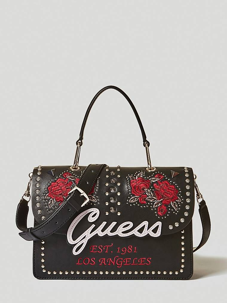 429b97e33 IN LOVE BAG EMBROIDERY AND STUDS   GUESS.eu   Style de 2019   Guess ...