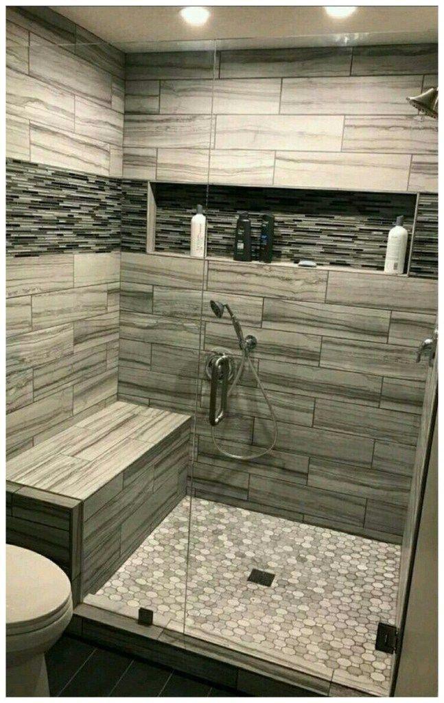 45 master bathroom walk in shower ideas 12#designweek #cakedesigner #instadesign #moderndesign #fashionpost #tile shower ideas walk in