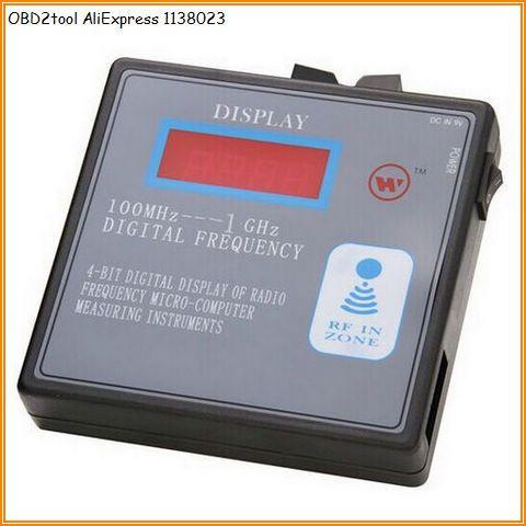 Aliexpress Com Buy Aqkey 100mhz 1000mhz Rf Wireless Frequency Counter Car Garage Door Remote Transm Radio Frequency Remote Control Garage Door Remote Control