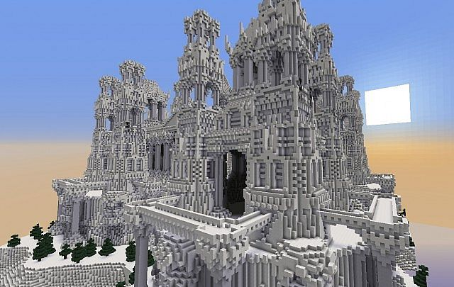 Quartz minecraft building ideas castle island 640 - Construcciones coolbuild ...