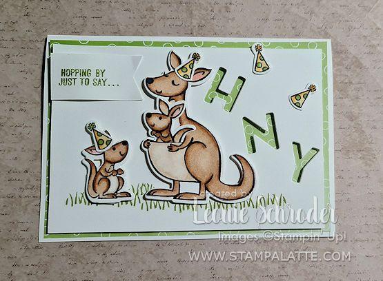 Stamp A Latte - Leonie Schroder Stampin' Up!® Demo