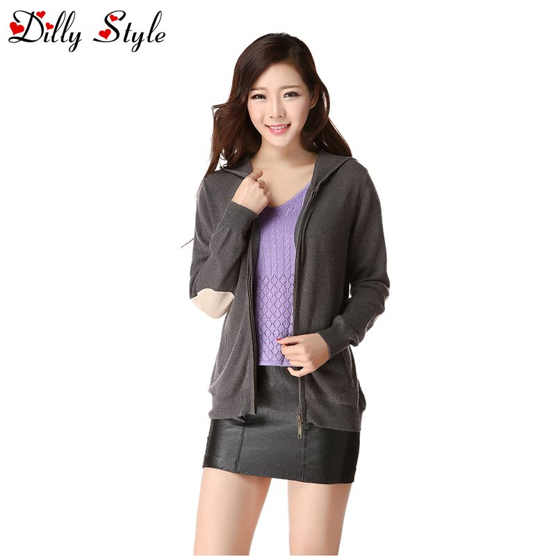 Women's Long Sleeve Cashmere Cardigan Sweaters Women Autumn Spring ...