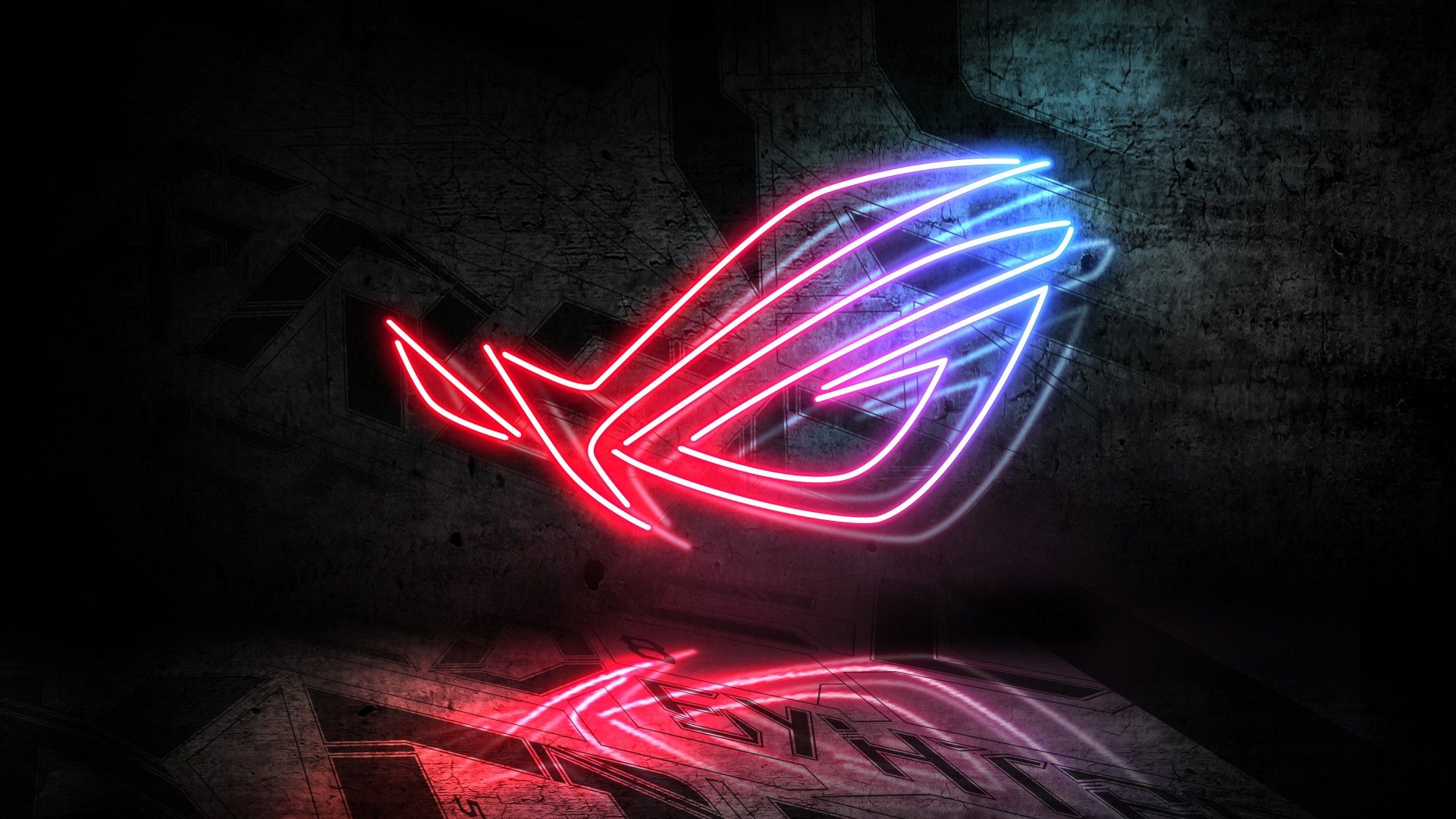 Asus 1920x1080 Neon Logo Gaming Wallpapers Hd Iphone Wallpaper Hipster