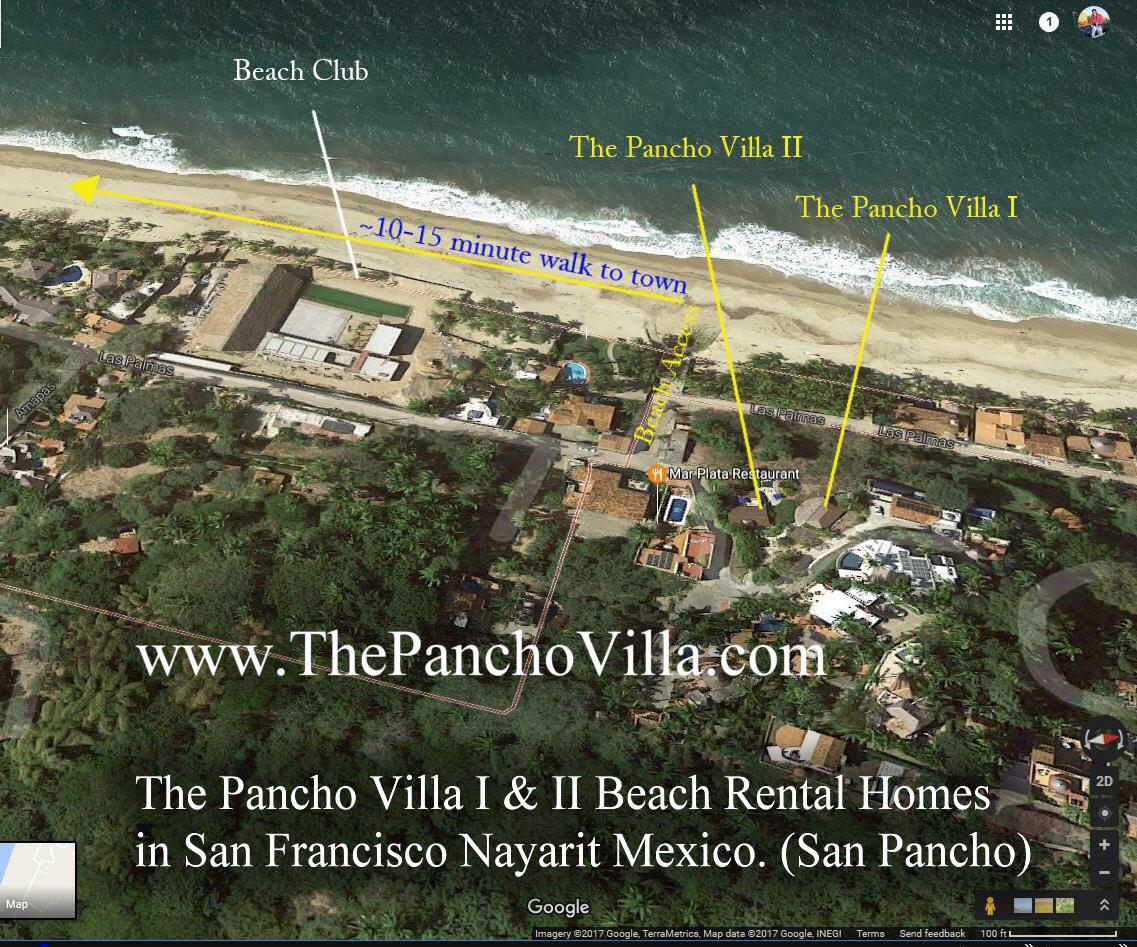 The Pancho Villa I u0026 II Beach