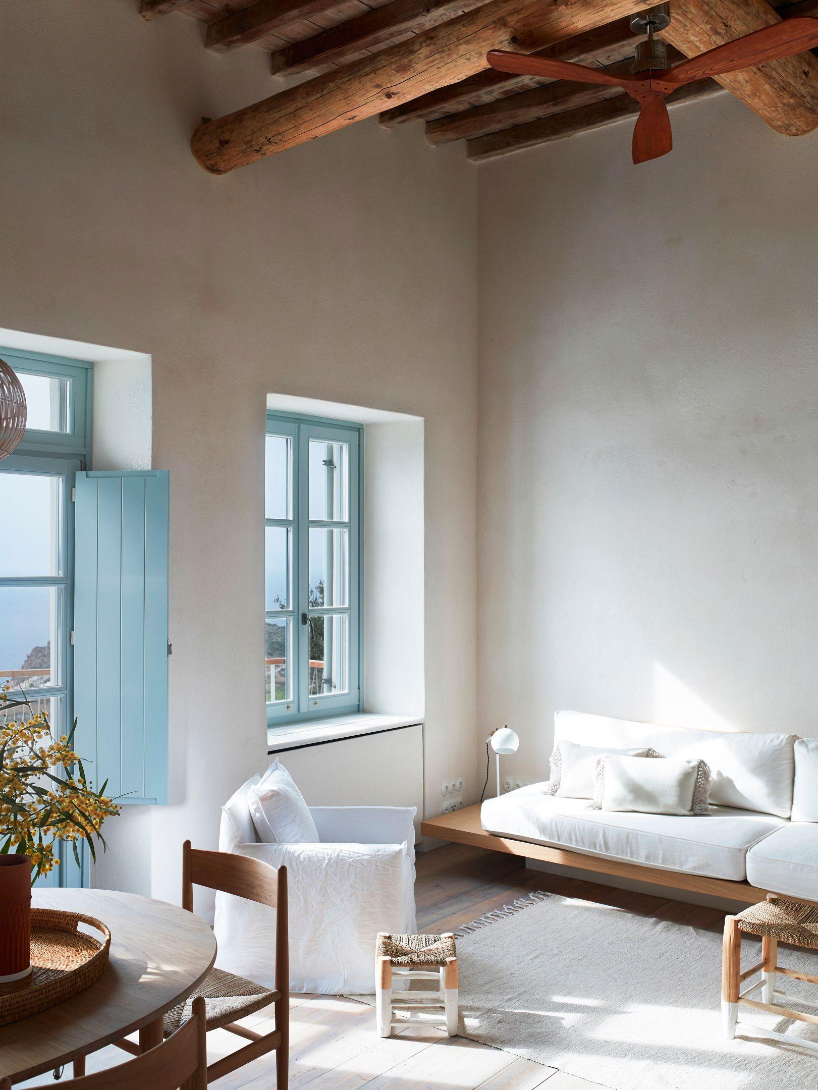 Une maison grecque sur une île - PLANETE DECO a homes world ...