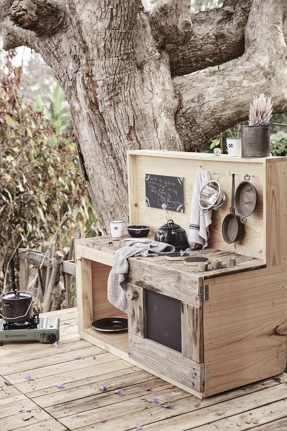 Castle and Cubby X CATGK Mud Kitchen made in Melbourne