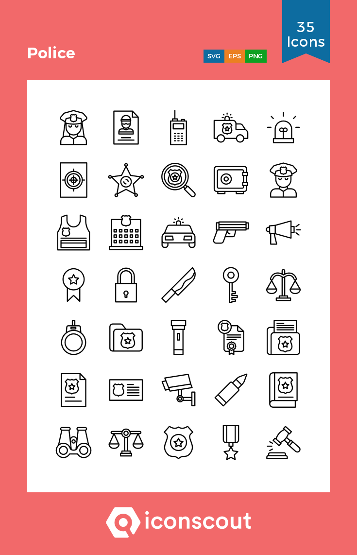 Download Police Icon Pack Available In Svg Png Eps Ai Icon Fonts Icon Pack Icon Icon Design