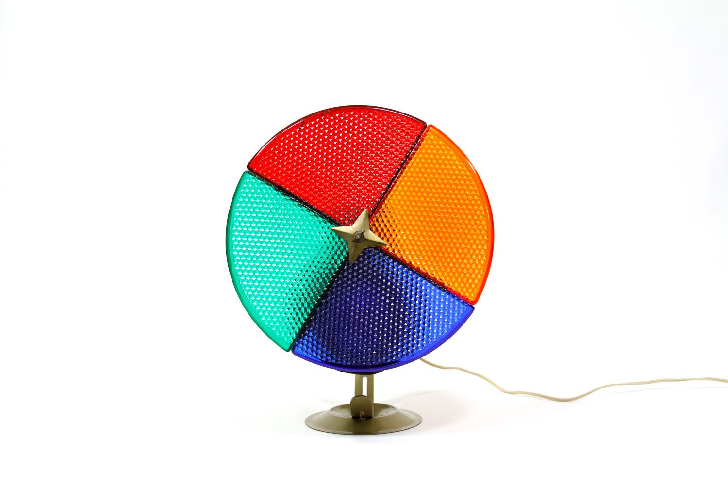 Spinning Color Wheel Light my grandparents had one of