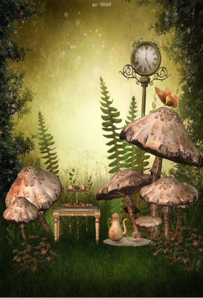 fairy tale fantasy forest photo background studio backdrop