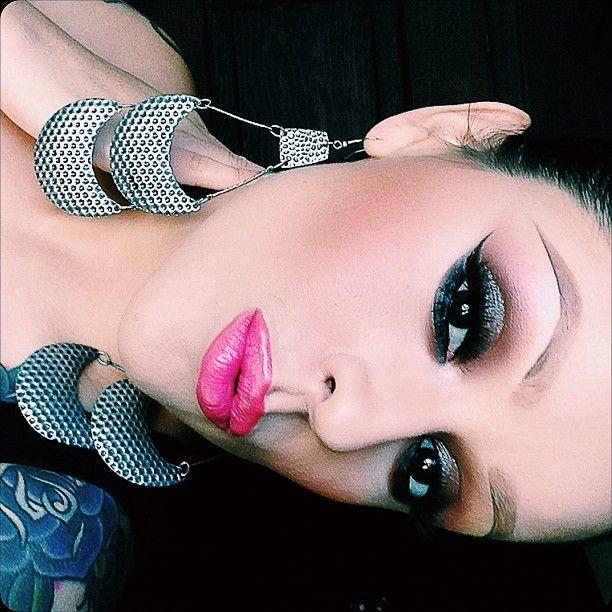 smokey eye @rosie_pops- #webstagram
