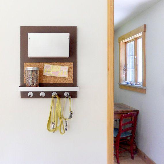 Pet Organizer Wall Mount Bin With Shelf And Hooks For Etsy Pet Organization Wall Organization Accessory Organization