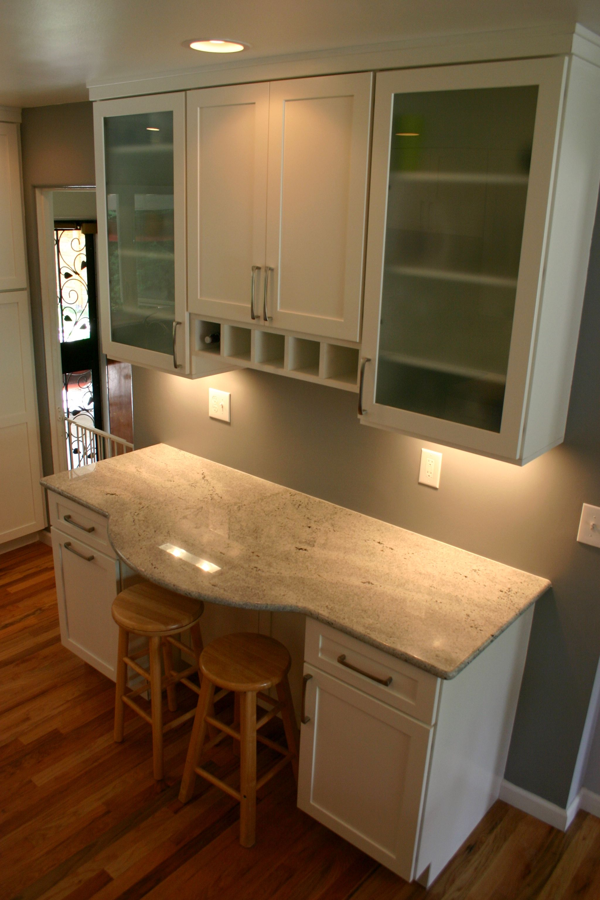 BKC Kitchen and Bath kitchen remodel: Medallion Cabinetry, Potters ...